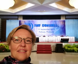 Karoliina Lundahl IWF kongressi 2019 Pattaya